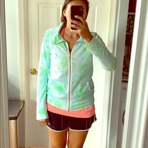 Lilly Pulitzer Zipper Pullover 🦀